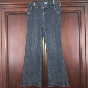 Old Navy wide leg jeans.